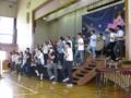 PTA役員による合唱