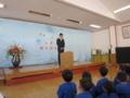 小林常盤小学校長来賓挨拶