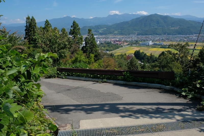 花咲山展望台(恋人の聖地)