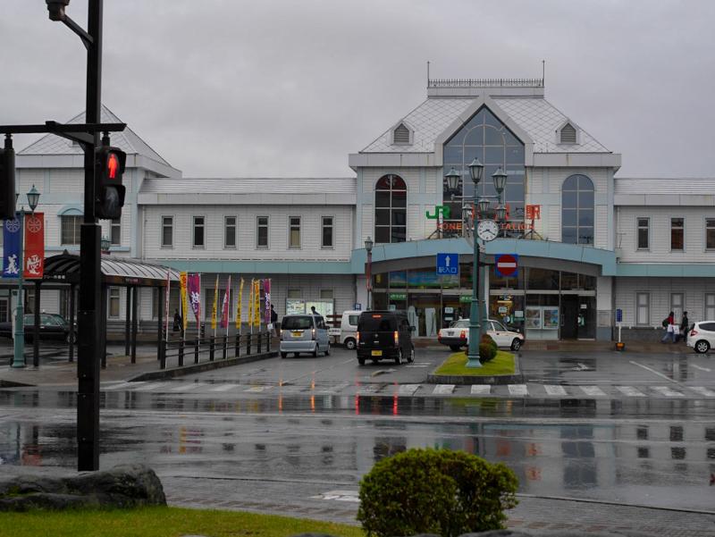 JR米沢駅「立ちそば処 鷹」