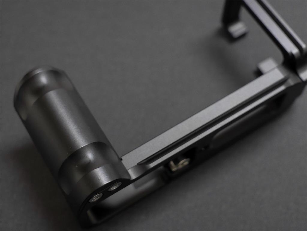 INPON L型クイックリリースブラケット FUJIFILM X-T20専用 ハンドグリップ