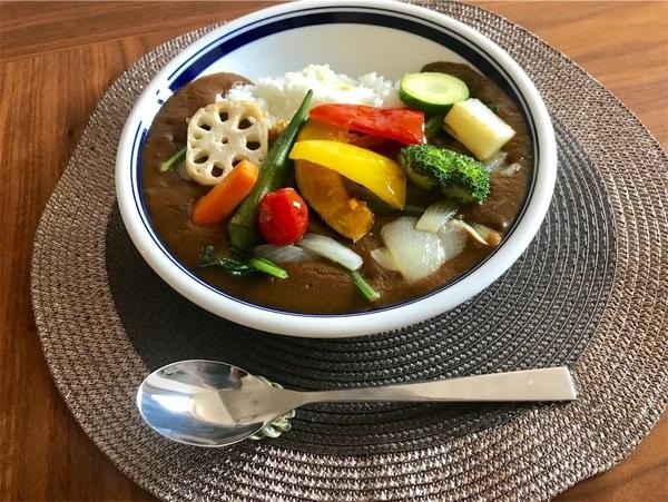 セブン ミールキットの夏野菜カレー
