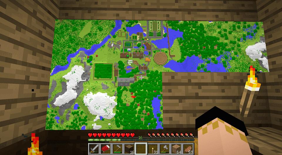 地図は街の発展がよくわかる