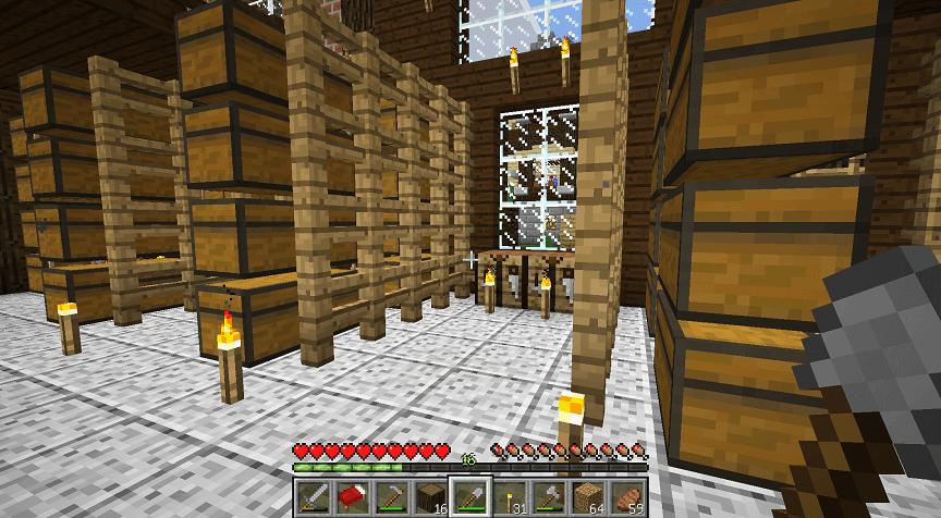 のちに地下室を作る場所
