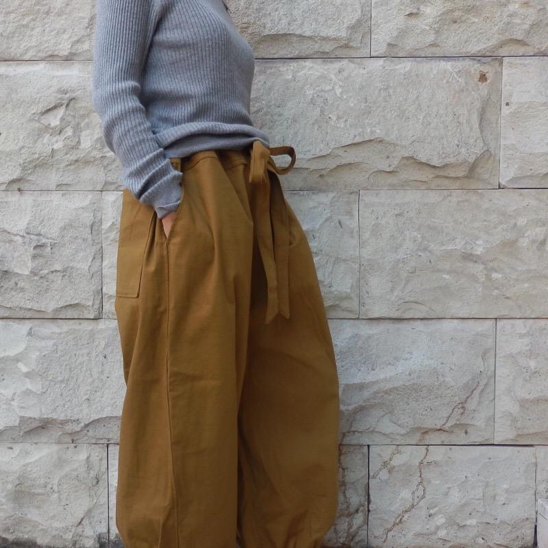 バルーンパンツ/ポケット