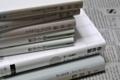 岩波文庫3冊、光文社古典新訳文庫1+1冊、日経BP1冊、土台は自伝