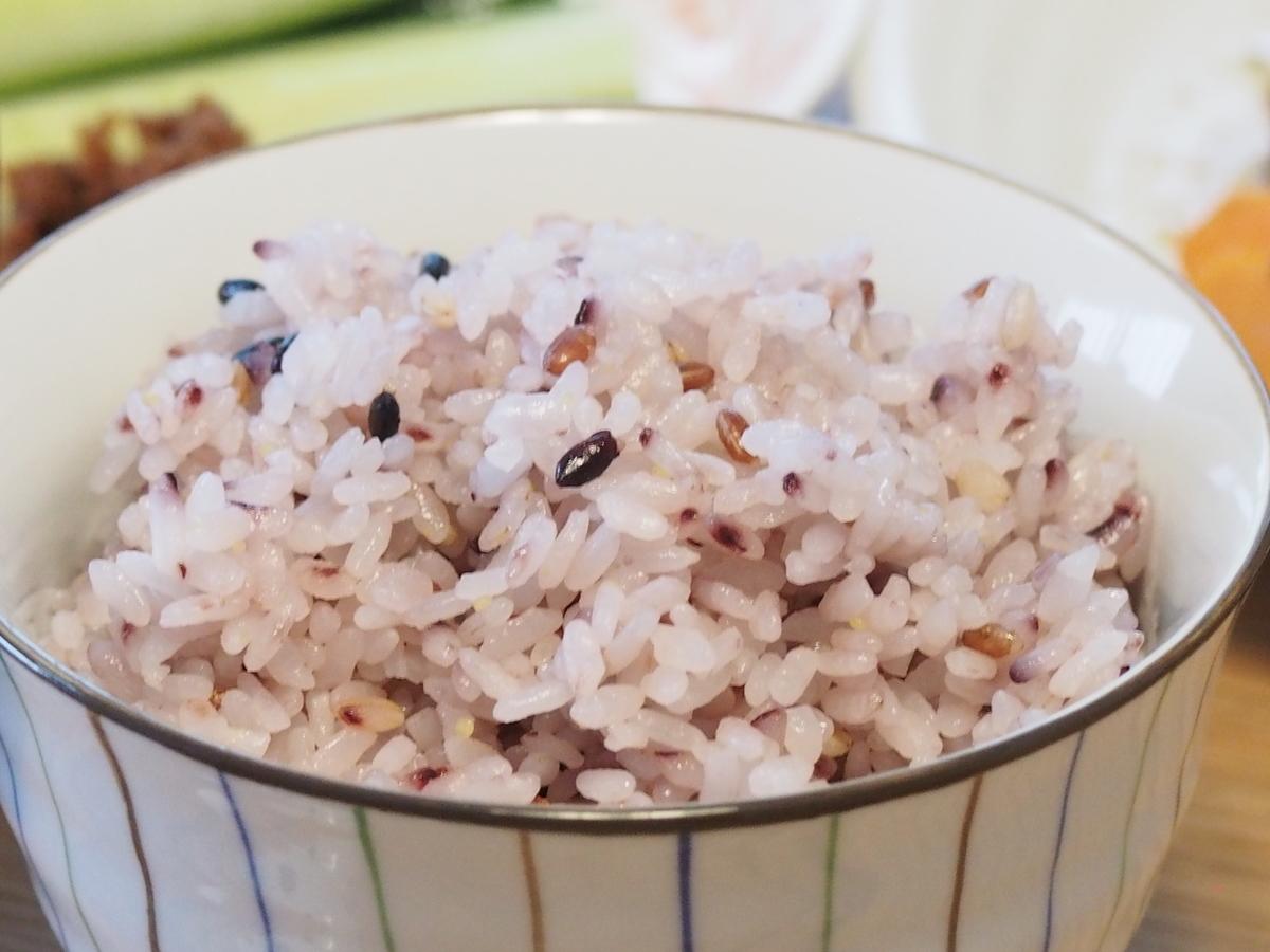 五穀米ごはん