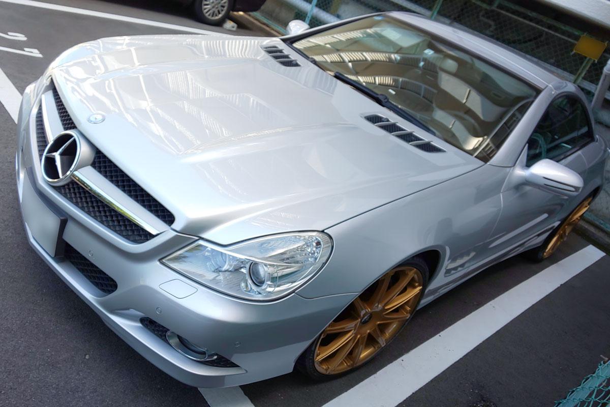 メルセデス・ベンツ SL550 (R230)金色 Gold ホイール