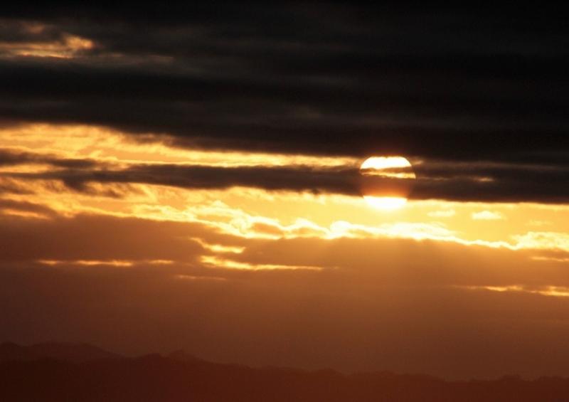 曇天の朝2