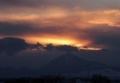 雲の中の集落