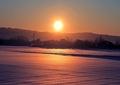 冬の風景 朝日5