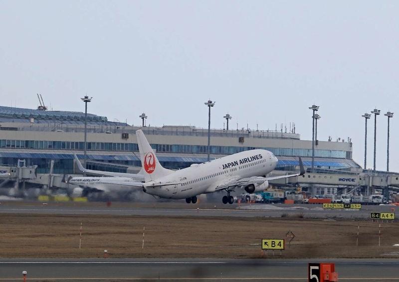 飛行機離陸12