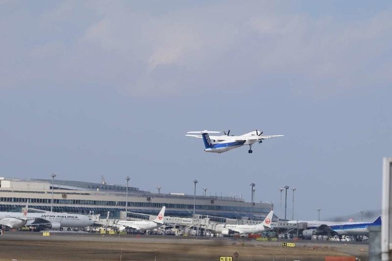 飛行機離陸10