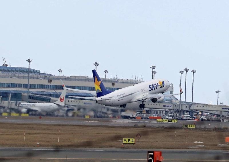 飛行機離陸7