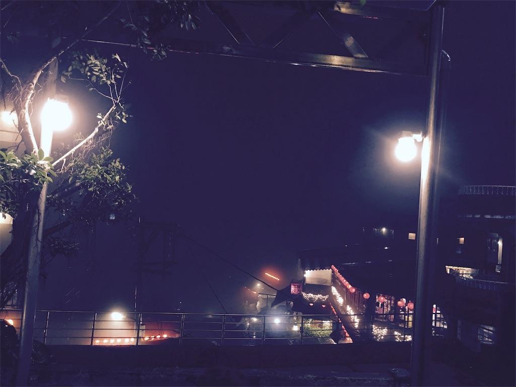 九分の夜景