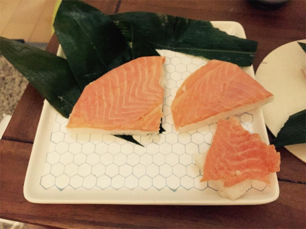 富山鱒の寿司