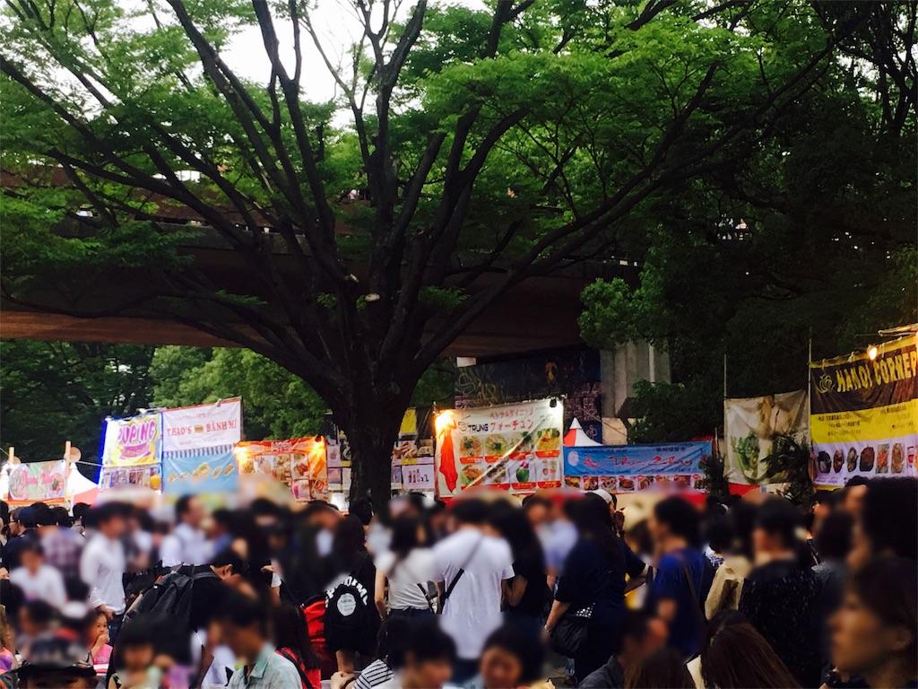 代々木公園ベトナムフェスは大人気