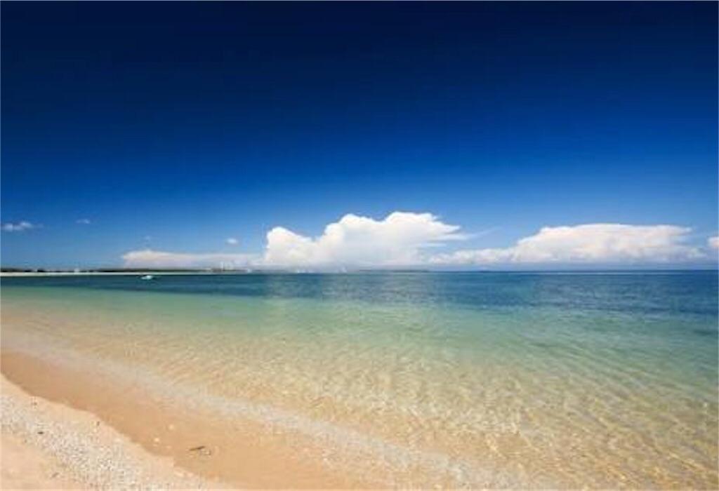 ポンフーのきれいな海