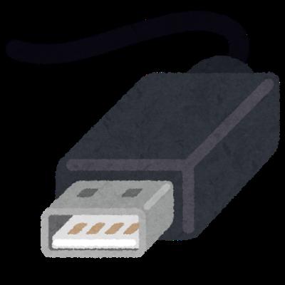 電源側USB