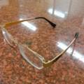 通販で買った眼鏡