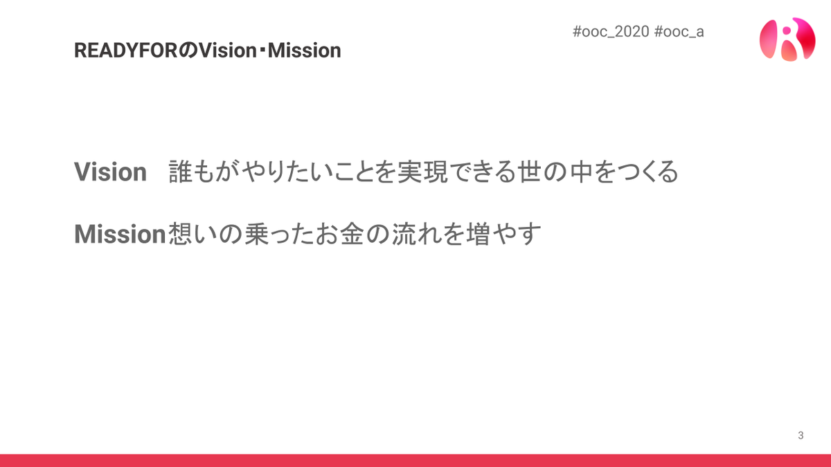 READYFORのVision・Mission