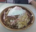 [写真][栃木][食べ物]石田屋特大焼きそば