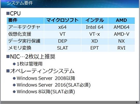 イベントレポート vmwareと何が違う いまさら聞けない hyper v入門