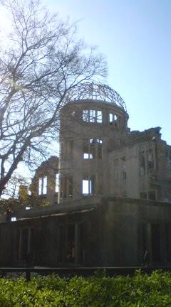 原爆ドーム。いち。