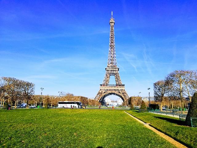 ヨーロッパ横断旅行パリ エッフェル塔