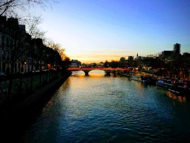 ヨーロッパ横断旅行 パリ