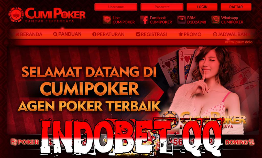 Situs Agen Judi Poker dan Domino Qiu Qiu Online Terpercaya 2018