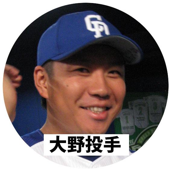 中日ドラゴンズ 大野雄大投手
