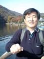 20071202 10:19 渡月橋 てこぎ ボート