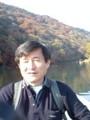 20071202 10:20-2 渡月橋 てこぎ ボート