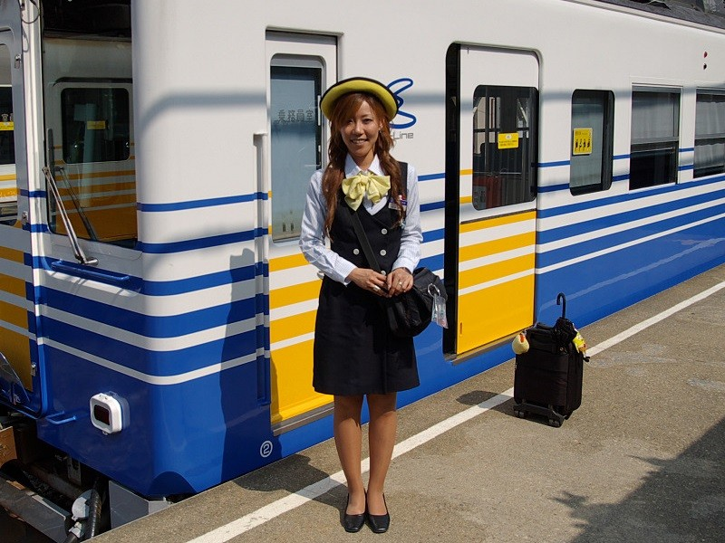 えちぜん鉄道の アテンダント 07 (Photo 日記)