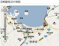 [鉄道][路線図]浜崎駅周辺の 地図 (あのへん)