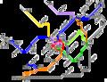 [鉄道][路線図]JR西日本 アーバンネットワーク