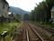 2008年 8月 20日 山陰本線 嵯峨嵐山駅の にしがわふみきりから にしむき
