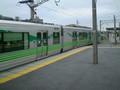 [愛環]三河豊田駅に 到着した 電車