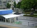 [愛環]三河豊田駅ホームから みおろす 駅前ロータリー