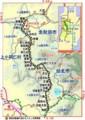 [鉄道]秋田内陸縦貫鉄道 路線図