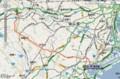 [[鉄道]]横浜線 路線図