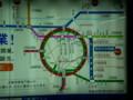 [鉄道]地下鉄 四つ橋線 なんば駅に おおさか東線の 宣伝が! 02