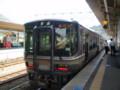[鉄道]篠山口から 福知山に むかう ふつう 〔これも 223系が 投入された〕
