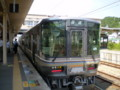 [鉄道]篠山口から 福知山に むかう 223系 車両の ふつう