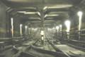 [銀座線]22 銀座線三越前~神田駅間の鉄鋼框(かまち)構造のトンネル