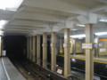 [銀座線]23 銀座線上野駅の鉄鋼框(かまち)構造(東京メトロ提供)