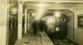 [銀座線]01_昭和9年ごろの銀座線銀座駅(東京メトロ提供)