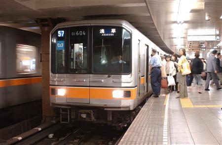 20 選奨土木遺産に認定された銀座線上野駅(東京メトロ提供)