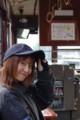 岡山電気軌道 制服 (2011年まで)